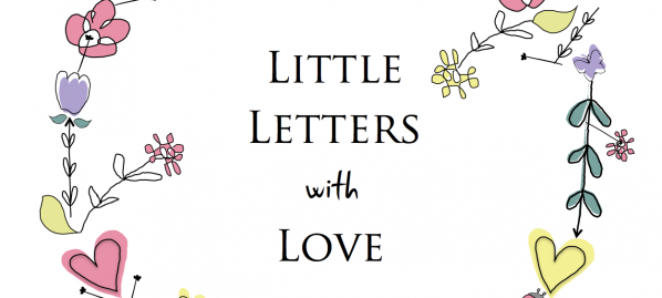 Little letters flower circle logo copy