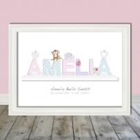 Name on a Shelf Amelia ws