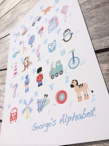 george's alphabet