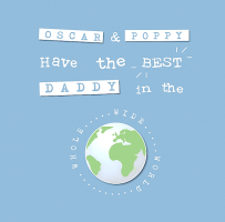 HAVE THE BEST DADDY CARD