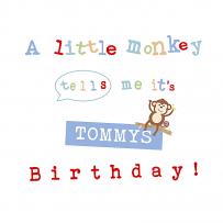 a little monkey tells me