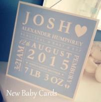 new boy card