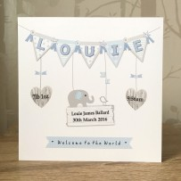 louie bunting card