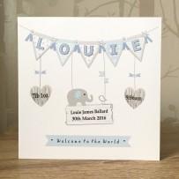louie bunting card