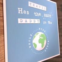 best daddy card side