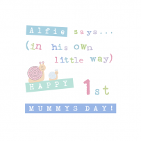 1ST MOTHERS DAY BOY